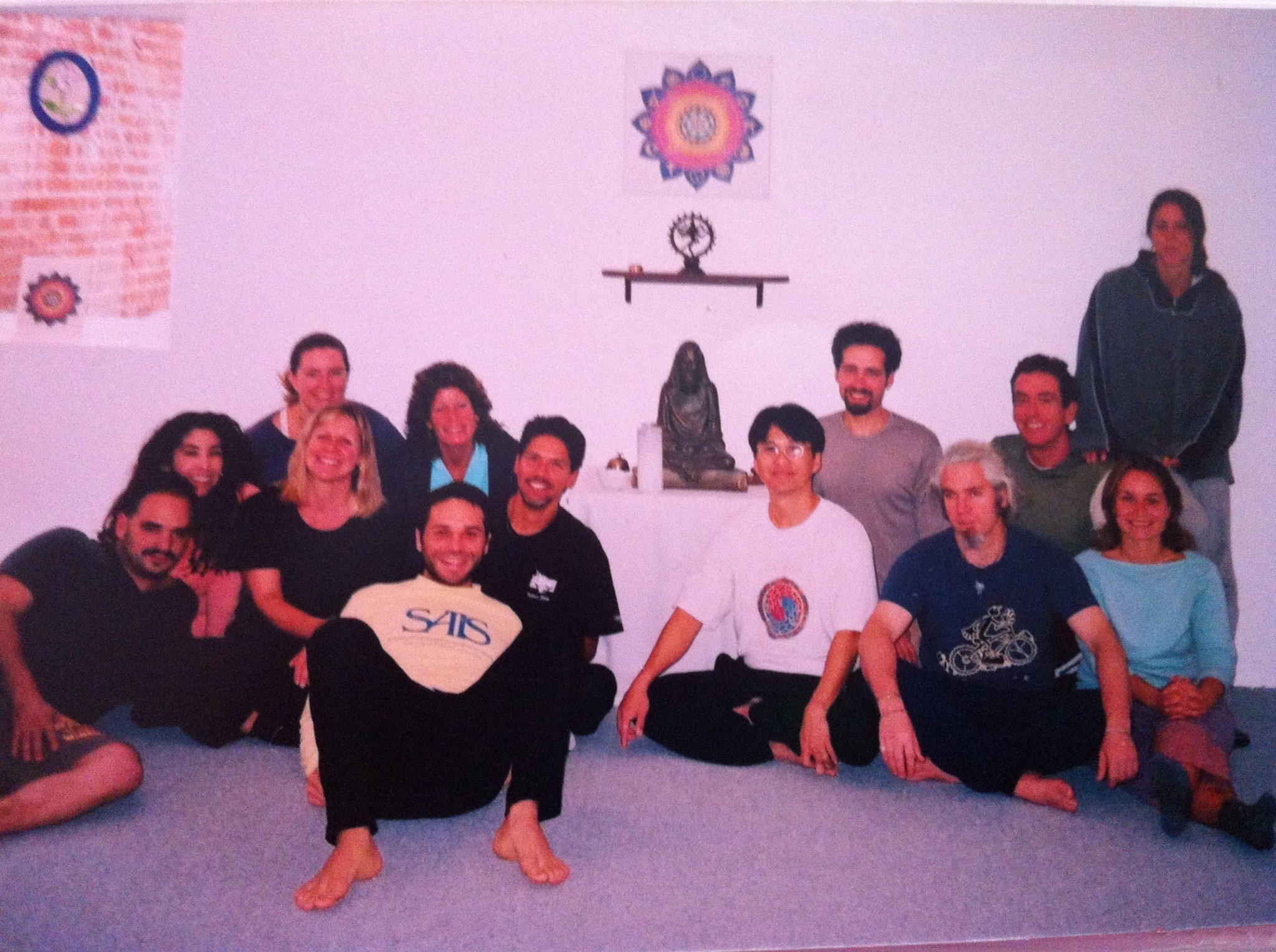 1998 Thai Massage course with Kam Thay Chow