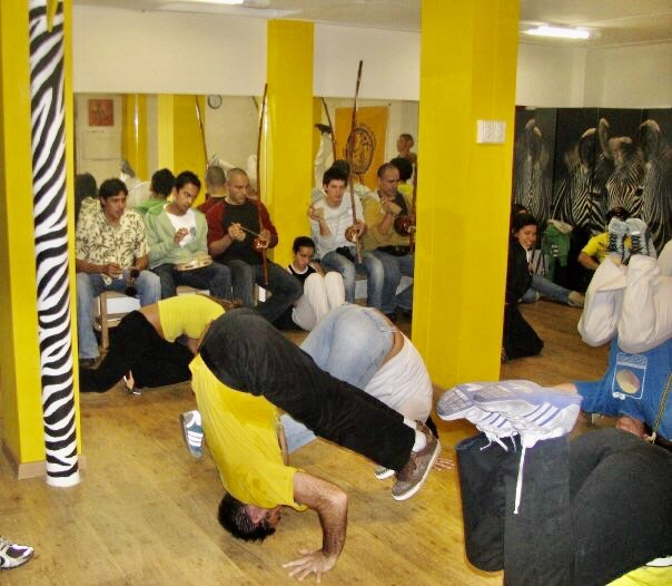 2008 Started leading classes at the Capoeira Angola Study Group in Lima Peru.JPG